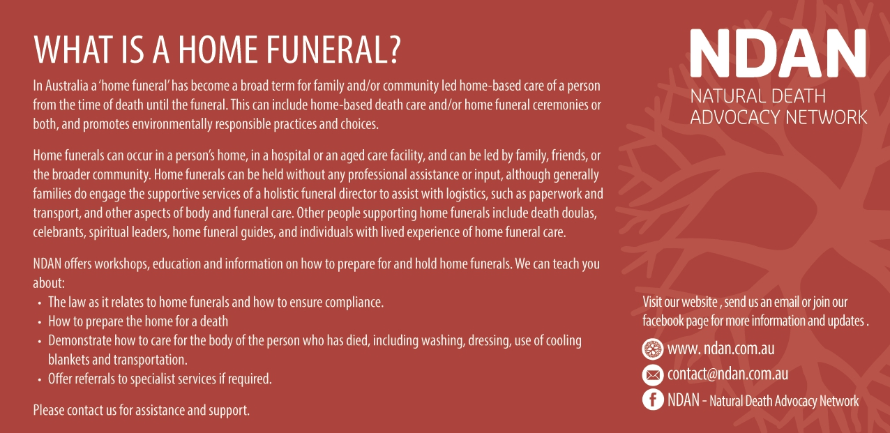 WHAT IS A HOME FUNERAL