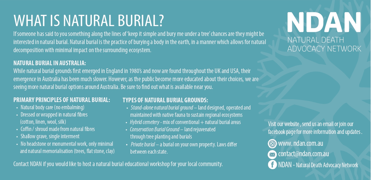 WHAT IS NATURAL BURIAL